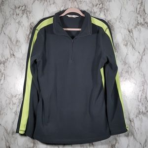 Old Navy Gray Fleece 1/4 Zip Pullover XL Tall T168